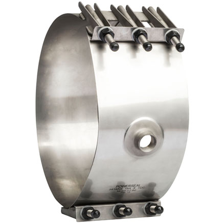 3416AS All Stainless Saddle Large Diameter